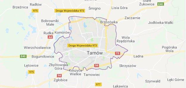 Lokalne pozycjonowanie - Tarnów